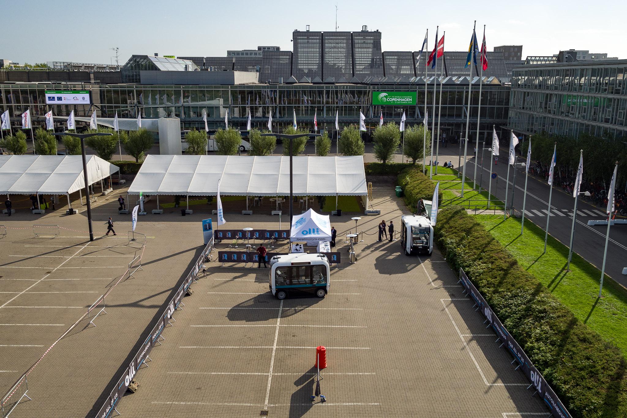 Luftfoto Bella Center
