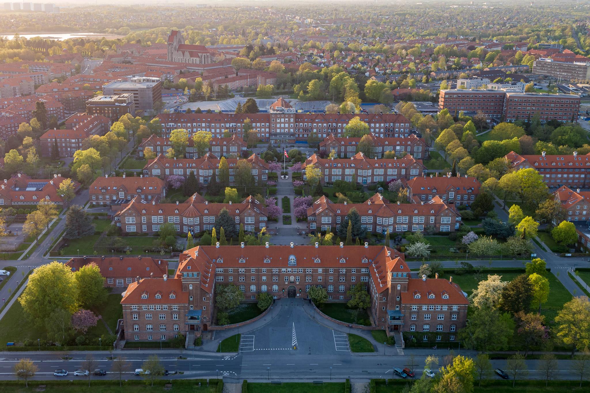 Luftfoto af Bispebjerg Hospital